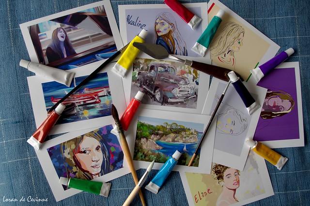 Mes peintures numériques