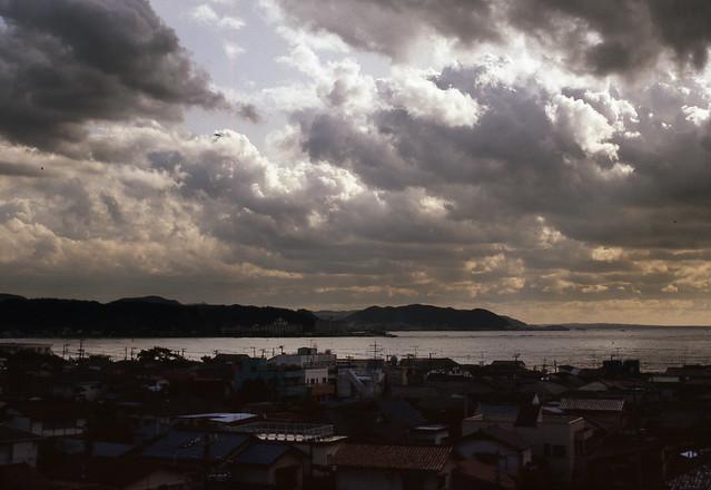 The Kamakura bay