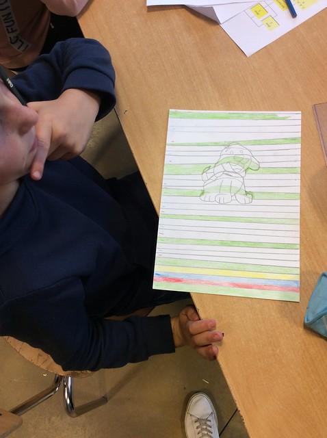 6de leerjaar - 3D tekenen