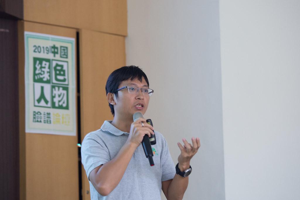 莆田綠萌濱海濕地研究中心主任劉毅。吳宜靜攝。