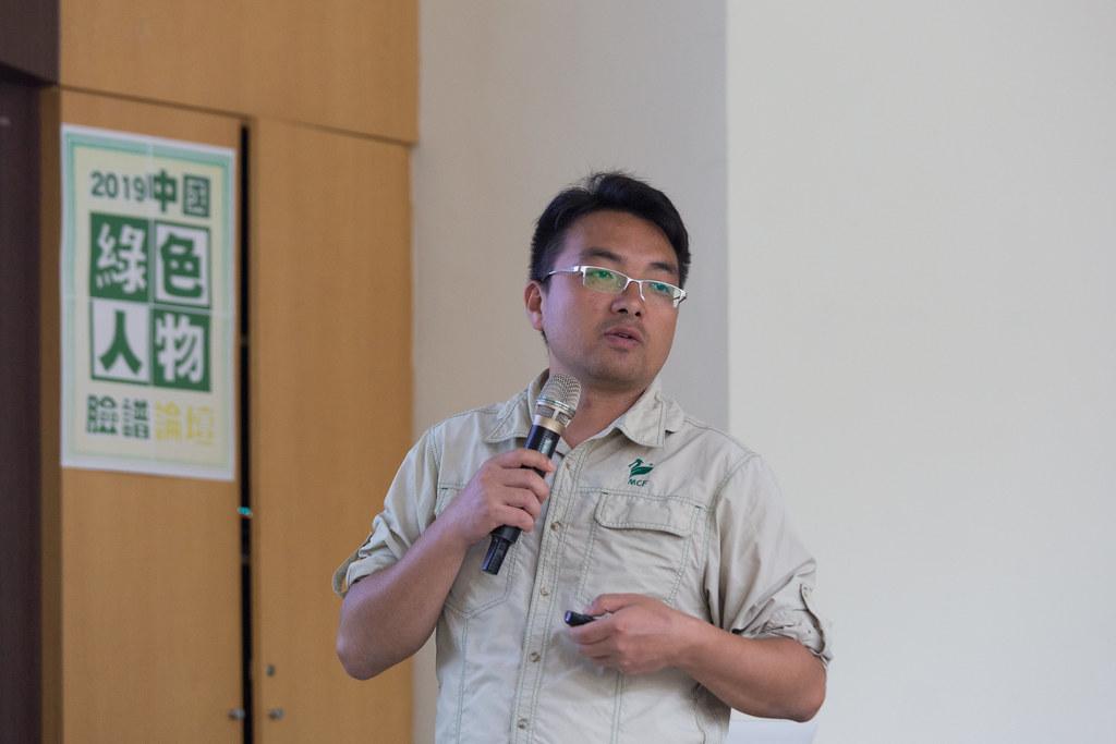棲地保育的專業經理人──李燊。攝影:吳宜靜。