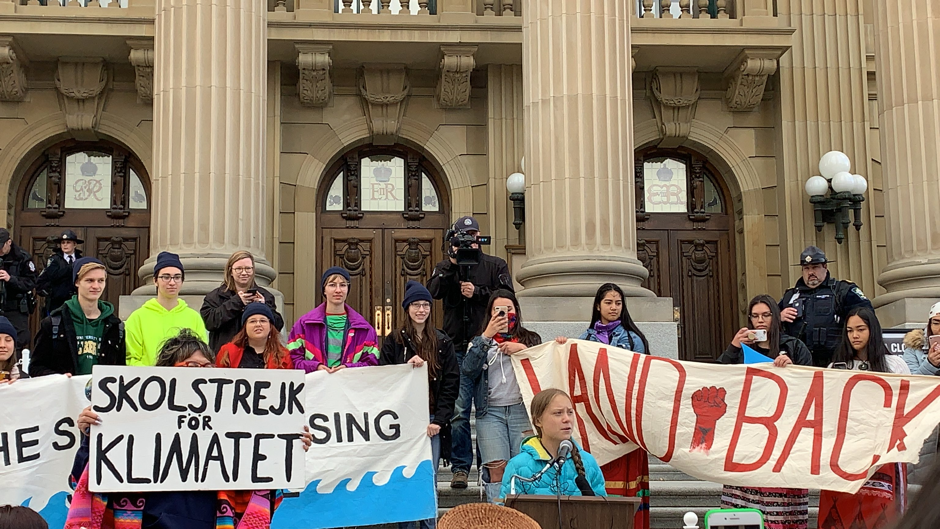 Edmonton Climate Strike with Greta Thunberg