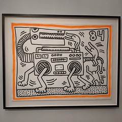 Uplifting, heartbreaking, enlightening. Keith Haring at Tate Liverpool is a great show.