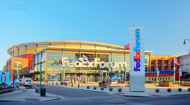 The FedExForum - Memphis, Tennessee