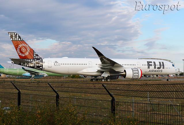 F-WZFW Airbus A350 Fiji Airways