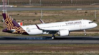 Vistara A320-251N msn 9203
