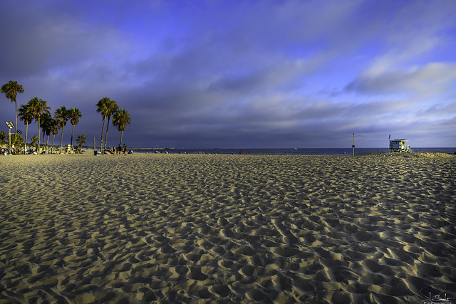 Evening in Venice - Los Angeles - California - USA