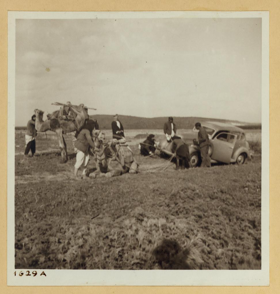 5 января. Автомобиль застрял на дороге в Кесарию