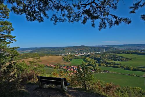 aussicht landschaft darktable zeigerheim rudolstadt liske thüringen thuringia saaletal herbst autumn fall