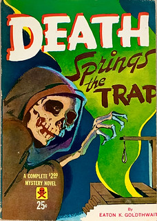 Death House Mystery (1944). Digest Size. Uncredited Cover Artist