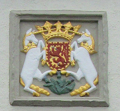 Coat of Arms, Whithorn Pend