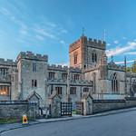 Edington Priory in the Gloaming