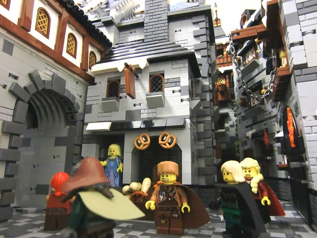 LEGO Fantasy Castle Streets