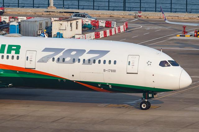EVA AIR B787-9 DREAMLINER B-17881 002-3