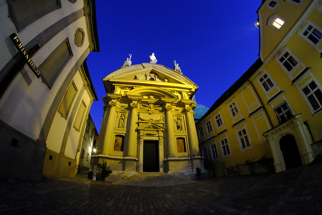XE3F1115 - Iglesia de Santa Catalina, Graz - St. Catherine's Church, Graz – Katharinenkirche, Graz