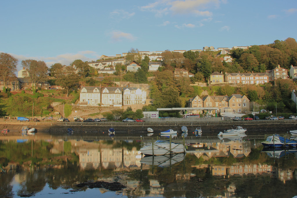 View of Looe from Mill Pool