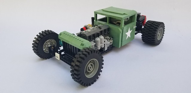 M35A2 (Deuce and a Half) Rat Rod