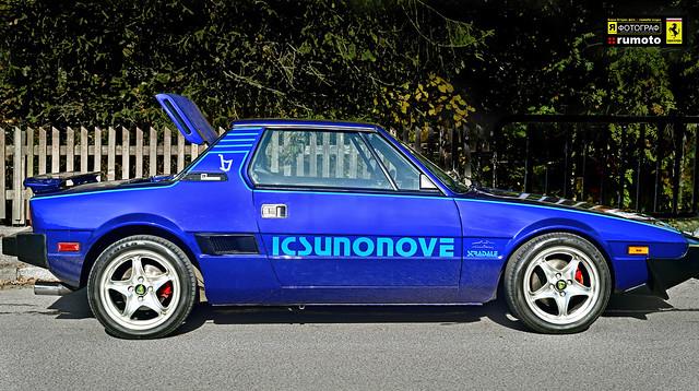 Fiat X1/9 Bertone Dallara (c) 2019 Берни Эггерян :: rumoto images 2180