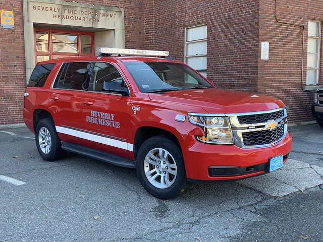 Beverly, MA Fire Department Chevrolet Tahoe (Car 2)