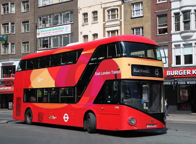Go Ahead London East London Transit - LT950 - LTZ2150