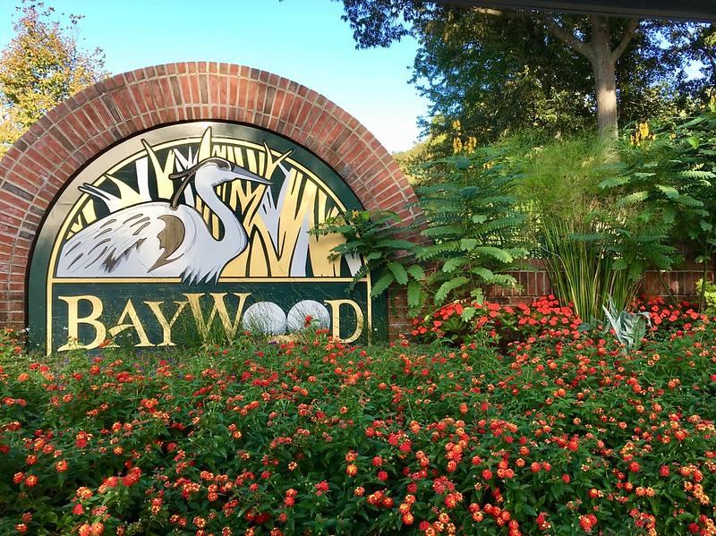 Baywood Greens Gardens tour