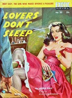 Exotic Novel No. 20, Paperback Original, (1951). Digest Size. Uncredited Cover Artist