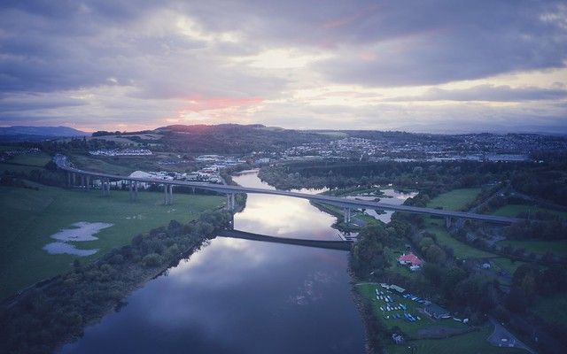 Sunset, River Tay, Perth
