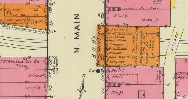 1918 Sanborn Map of Anderson SC