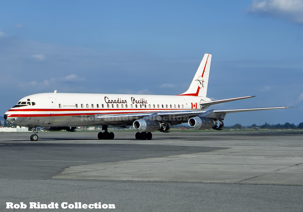 Canadian Pacific Air Lines DC-8-43 CF-CPI