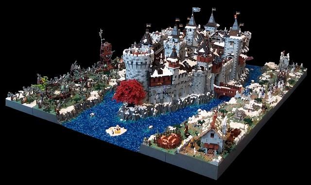 LEGO Fantasy Castle Siege