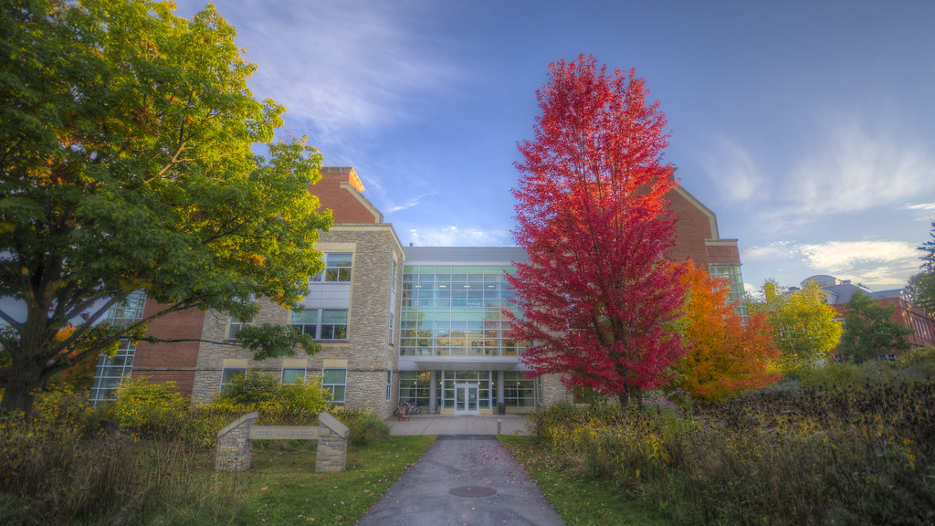 Johnson Hall in the Fall 2019