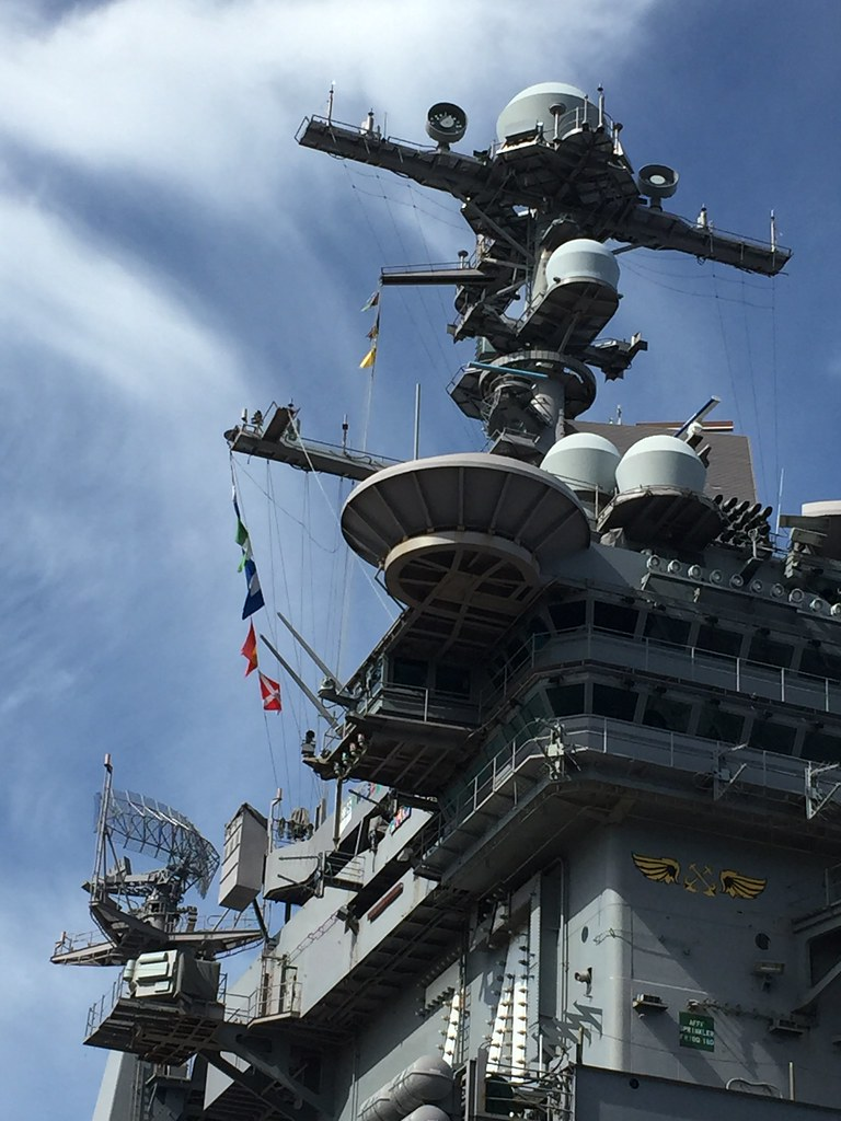 The U.S.S. Stennis aircraft carrier in Norfolk, Va. USA.