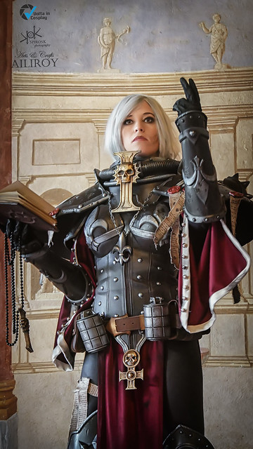 Piece of Cake Cosplay as Sister of Battle from Warhammer 40K, by Ailiroy and SpirosK photo.