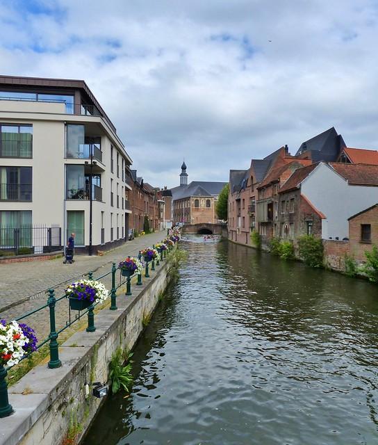 Gent - Lieve Sint-Antoniuskaai - Prettig weekend - Have a nice Weekend!