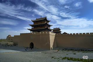 嘉峪关 jiayuguan great wall silk road