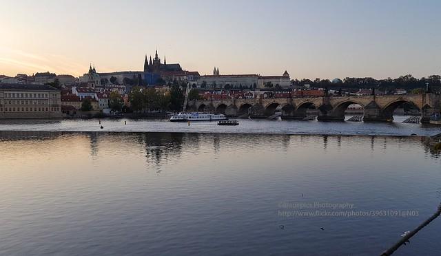 Prague, castle and Charles bridge
