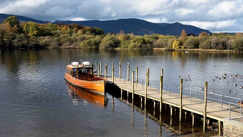 """""""The lady in the lake""""  (Keswick Cruises Lady Derwentwater)"""