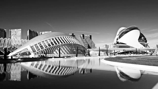 Hemisfèric / Palau de les Arts Reina Sofia / Ciutat de les Arts i les Ciències / Valencia