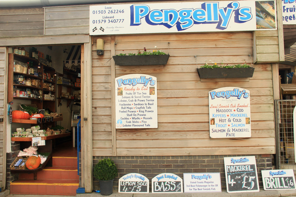 Pengelly's fishmongers and grocery store, Looe