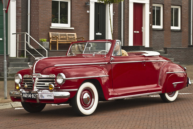 Plymouth Special DeLuxe Convertible 1942 (8316)