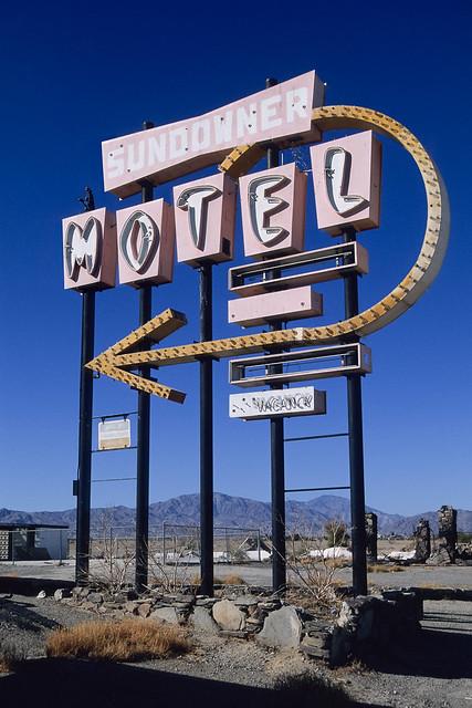 sundowner motel. salton city, ca. 2000.