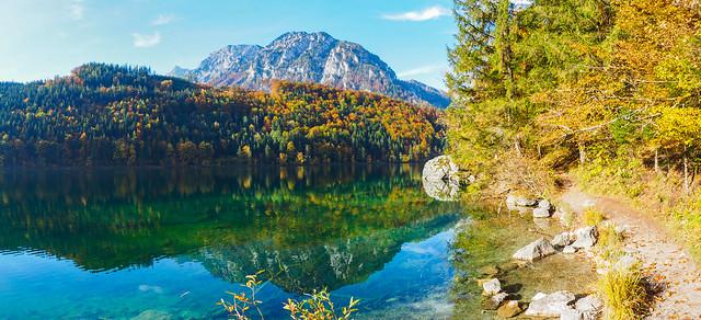 Panorama at the Lake