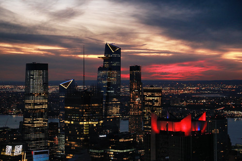 usa nyc newyorkcity manhattan building sky skyline skyscraper ciel gratteciel sunset coucherdesoleil twilight goldenhour canonef24105mmf4lisusm canoneos6d dusk crépuscule
