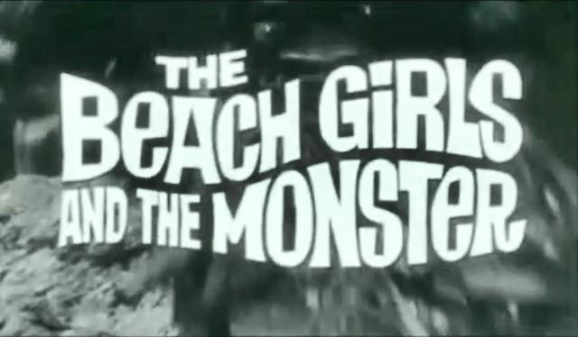 Tiki Bijou : The Beach Girls and the Monster : 1965