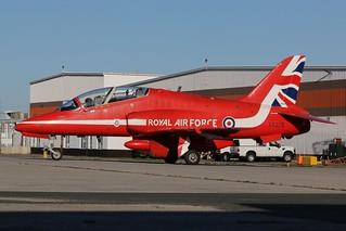 Raf Red Arrows Demonstration Squadron XX278