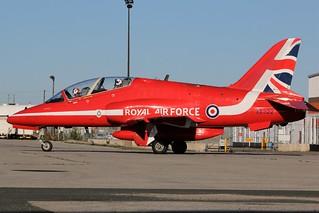 Rad Red Arrows Demonstration Squadron XXX322