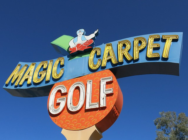 Magic Carpet Golf - Tucson, Arizona (Addis Signs, 1971)