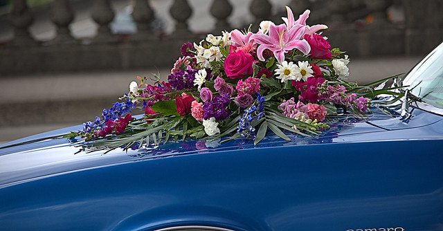 Car Flower Arrangement