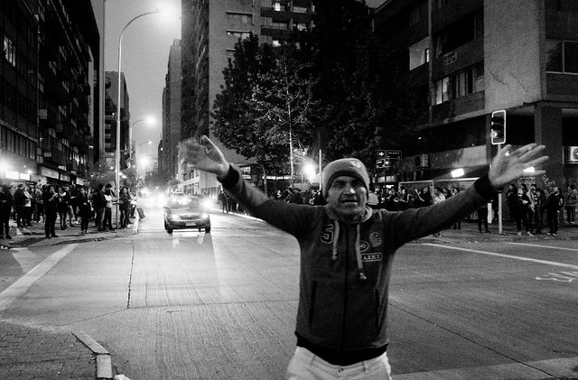 Santiago está furioso, Santiago de Chile