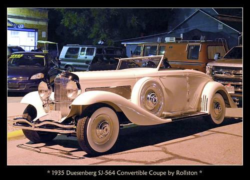 1935 Duesenberg SJ-564 Convertible Coupe